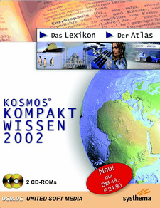 Kosmos Kompakt Wissen 2002: Das Lexikon & Der Atlas