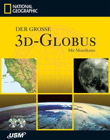National Geographic: 3D-Globus mit Mondkarte