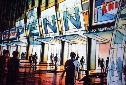 "Entwurf ""Madison Square Garden"" / ""2PennPlaza"", New York NY"