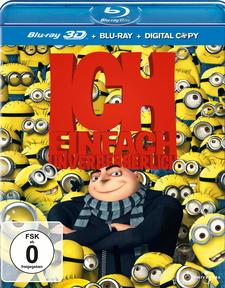 Ich - Einfach unverbesserlich (Blu-ray 3D, Blu-ray 2D, + Digital Copy)