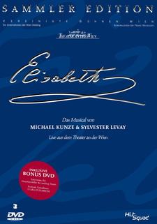 Elisabeth - Das Musical: Live aus dem Theater an der Wien (Sammler-Edition, 3 Discs)