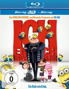 Ich - Einfach unverbesserlich (Blu-ray 3D, + Blu-ray 2D)