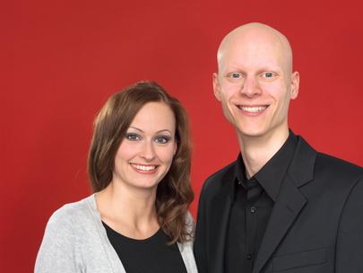Radio Vest Morgenmoderatoren Julia Winterfeld und David Petzold