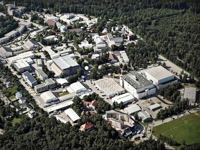 Bavaria Studios Gelände in Geiselgasteig