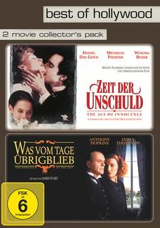 Best of Hollywood - 2 Movie Collector's Pack: Zeit der Unschuld / Was vom Tage übrig blieb (2 DVDs)