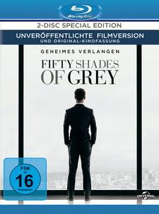 Fifty Shades of Grey - Geheimes Verlangen (Special Edition, 2 Discs)