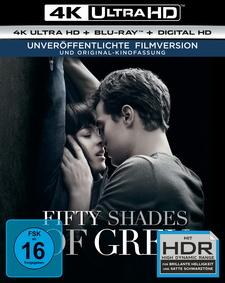Fifty Shades of Grey - Geheimes Verlangen (4K Ultra HD + Blu-ray)