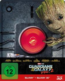 Guardians of the Galaxy Vol. 2 (Blu-ray 3D + Blu-ray, Steelbook)