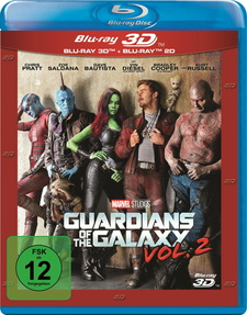 Guardians of the Galaxy Vol. 2 (Blu-ray 3D + Blu-ray)