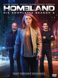 Homeland - Die komplette Season 6 (4 Discs)