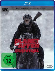 Planet der Affen: Survival (Blu-ray 3D + Blu-ray)