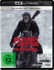 Planet der Affen: Survival (4K Ultra HD + Blu-ray)