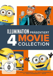 Minions 4 Movie Collection (4 Discs)