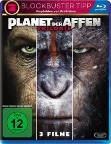 Planet der Affen Trilogie (3 Discs)