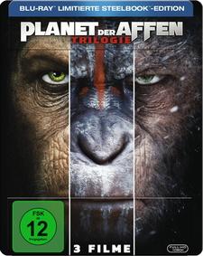 Planet der Affen Trilogie (3 Discs, Steelbook)
