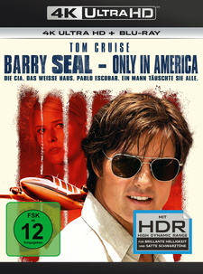 Barry Seal - Only in America (4K Ultra HD + Blu-ray)