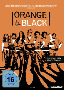 Orange Is the New Black - Die komplette fünfte Staffel (5 Discs)