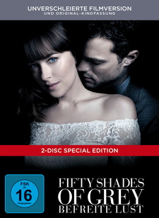 Fifty Shades of Grey - Befreite Lust (Unverschleierte Filmversion, Digibook)