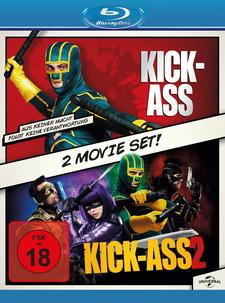 Kick-Ass 1 & 2 (2 Discs)