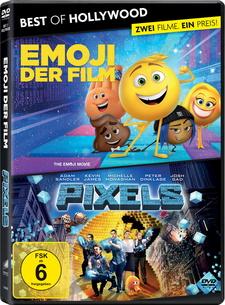 Best of Hollywood - 2 Movie Collector's Pack: Emoji - Der Film / Pixels (2 Discs)
