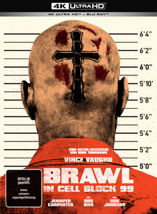 Brawl in Cell Block 99 (4K Ultra HD + Blu-ray, Limited Collector's Edition Mediabook)