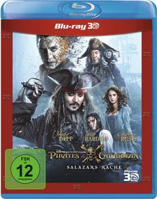 Pirates of the Caribbean: Salazars Rache (Blu-ray 3D)