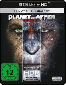 Planet der Affen Trilogie (4K Ultra HD, 3 Discs + 3 Blu-rays)