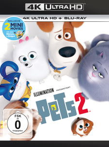 Pets 2 (4K Ultra HD + Blu-ray)