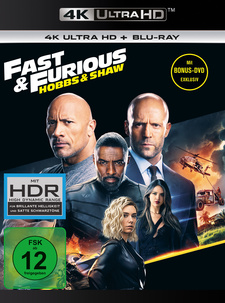 Fast & Furious: Hobbs & Shaw (4K Ultra HD + Blu-ray)