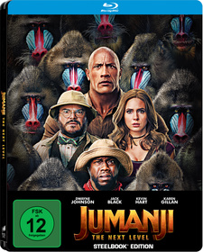 Jumanji: The Next Level (Steelbook Edition)