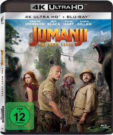 Jumanji: The Next Level (4K Ultra HD + Blu-ray)