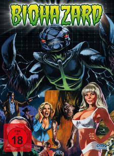 Biohazard - Monster aus der Galaxis (Limitiertes Mediabook, + DVD)