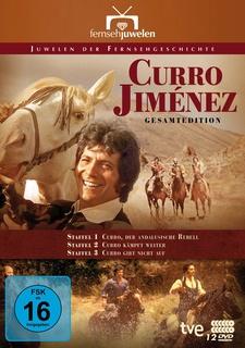 Curro Jiménez: Der andalusische Rebell - Gesamtedition (12 Discs)