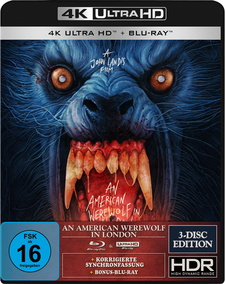 An American Werewolf in London (4K Ultra HD + 2 Blu-rays, Special Edition, Gabz Artwork)