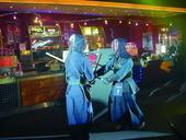 """Zum Start von """"Episode III"""" wurden die Schwerter gekreuzt"""