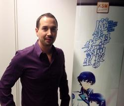 Rechnet mit Wachstum im Animemarkt: Benjamin Krause, KSM