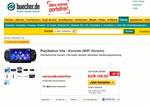 Das war es mit der Preisstabilität: Buecher.de will für die Wifi-Vita nur 199 Euro