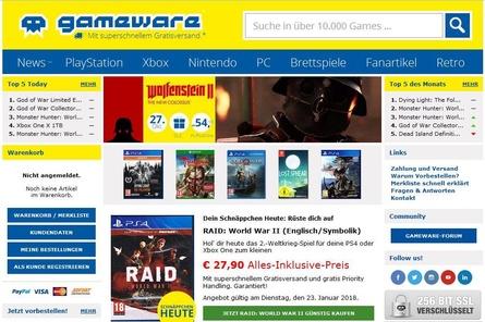 Künnftig will die gameware.at keine Microsoft-Konsolen verkaufen