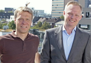 Wollen Lizenzierung optimal ausrichten: Markus Hedke (l.) und Oliver Schwenzer