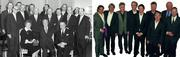 Knapp 50 Jahre VdF-Historie: ein Bild zum zehnjährigen Jubiläum 1958 mit Gründungsgeschäftsführer Horst von Hartlieb, und der Vorstand 2005