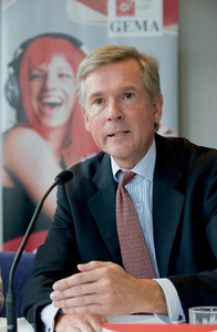 Formuliert konkrete Wünsche an die neue Bundesregierung: GEMA-Vorstandsvorsitzender Harald Heker