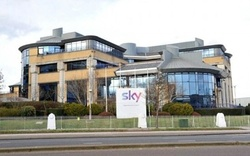 Die britische Sky-Zentrale in Brentford