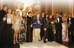 Das Finale nach der glanzvollen Verleihung des Deutschen Videopreises mit allen Preisträgern und Laudatoren