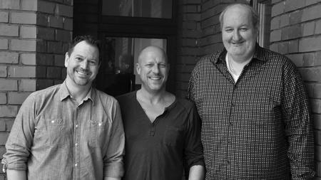 Michael Wamser, Alexander Kreis und Garry Leusch von ad cowa (v.l.).