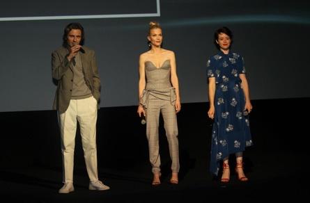 """Sverrir Gudnason, Sylvia Hoeks und Hauoptdarstellerin Claire Foy präsentierten """"Verschwörung"""" in Barcelona"""