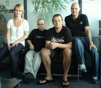 Partner (v.l.n.r.): Diana Munoz (Director of Finance & Administration Sony/ATV), Dirk Kramm (Direct Management), Carsten Otterbach (Geschäftsführer Direct Management) und Patrick Strauch