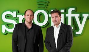 Hatten offenbar schon seit Oktober 2008 die Majors an Bord: Daniel Ek (l.) und Martin Lorentzon