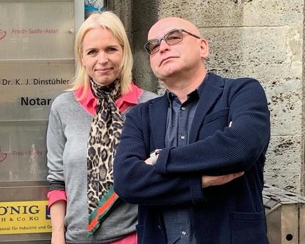 Annette Hess und Volker A. Zahn