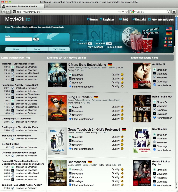 Kino.To Movie2k