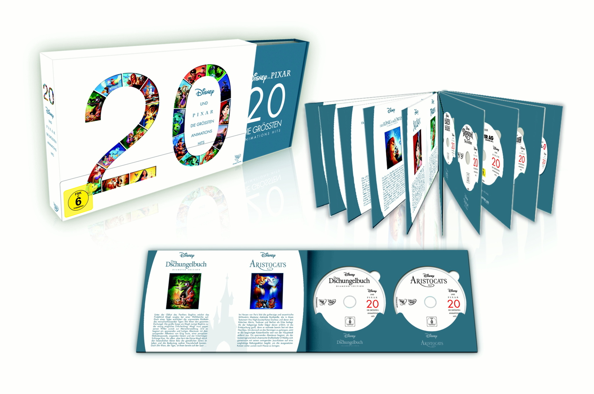 Disney Präsentiert Limitierte Animations Sammlerbox